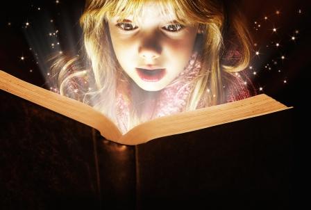 Tamara Bauer - Little Girl Reading