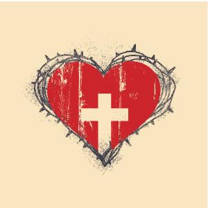 Captured-Heart-in-Thorns