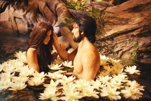 Adam and Eve from Creation Museum