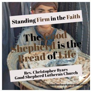 Good Shepherd is the Bread of Life