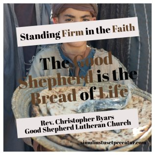 Good Shepherd is the Bread of Life