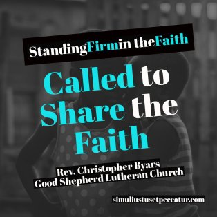 Called to Share the Faith
